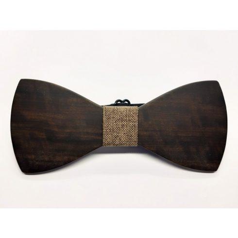 Ebony bow tie set