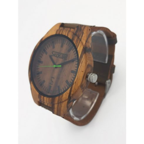 Men zebrawood watch