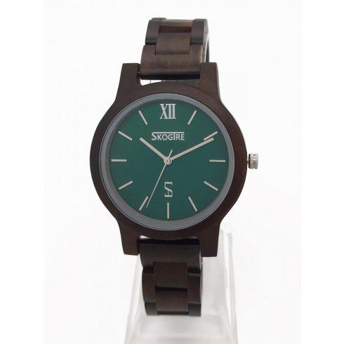 Ebony wood watch