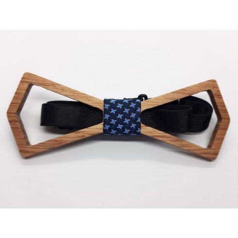 Hollow maple bow tie set
