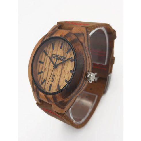 Women zebrawood watch