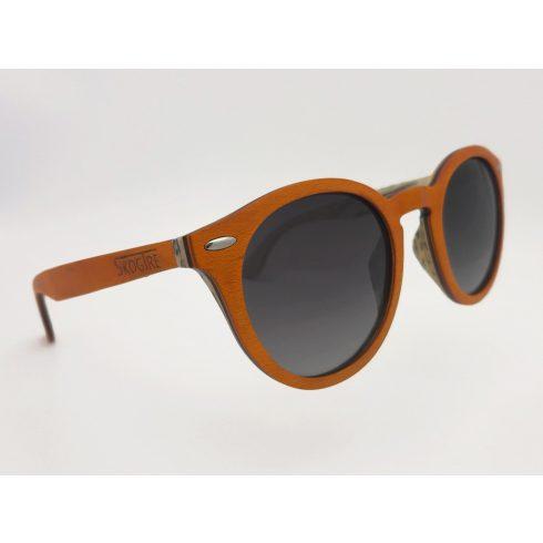 Orange colored maple sunglasses