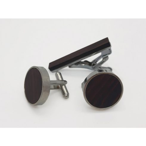 Ebony cufflink set